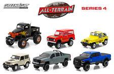 GREENLIGHT ALL TERRAIN SERIES 4, SET OF 6 CARS 1/64 BY GREENLIGHT 35050 SET
