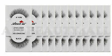 AmorUs #747M 100% Human Hair False Eyelashes (12 Pairs) compare Red Cherry