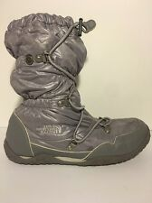 THE NORTH FACE Grey Primaloft Icepick winterGRIP Boots Padded Women's Sz 5 Gray
