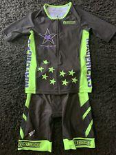 Rocket Science Triathlon Kit, Full Sleeve Jersey And Shorts Mens M