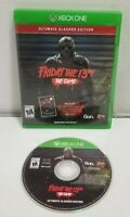 Friday the 13th: The Game Ultimate Slasher Edition Microsoft Xbox One TESTED EUC