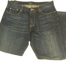 MEN'S LUCKY BRAND BLUE JEANS 36 X 30 Indigo 221 Original Straight Fit Denim