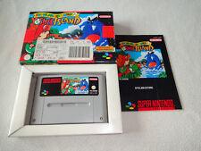 Yoshi's Island Yoshis SNES juego completo con embalaje original y guía
