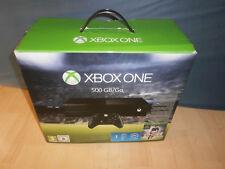 Xbox One-negro videoconsola Model 1540 con embalaje original y controlador, como nuevo!