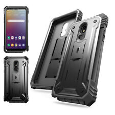 LG Stylo 5 Case,Poetic [Revolution] Full-body Rugged Shockproof Cover Black