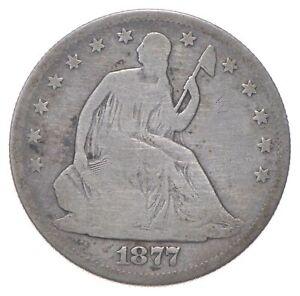 50c - Better - 1877-S - Seated Liberty Half Dollar *367