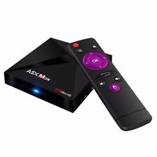 TV Box,A5X Max Android7.1 Quad Core WiFi 4K HD Game MediaPlayer 4GB RAM 16GB ROM