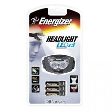 Energizer LED X3 Headlamp 3 LEDs Headlight 3x AAA Batteries