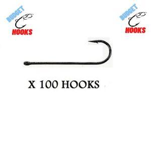 100 SIZE #6 ABERDEEN SEA FISHING HOOKS, CHEAPEST ON EBAY!