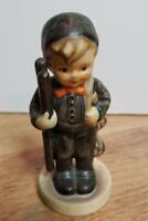 """Vintage Goebel Hummel """"Chimney Sweep"""" Boy Ladder Porcelain Collectible Figurine"""
