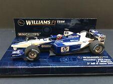 Minichamps - Juan Pablo Montoya - Williams - FW24 - 2002 - 1:43 - 2nd half of