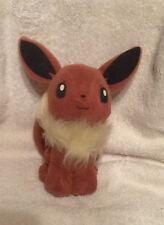 """1998 Hasbro Nintendo Pokemon Stuffed Toy 6"""" Plush Eevee"""