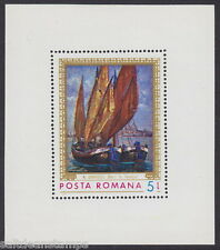 ROMANIA - 1971 Marine Paintings MS - UM / MNH