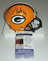 PACKERS David Bakhtiari signed mini helmet w/ #69 AUTO JSA COA Autographed