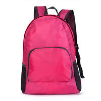 Unisex Durable Folding Packable Lightweight Travel Backpack Daypack Outdoor Bags