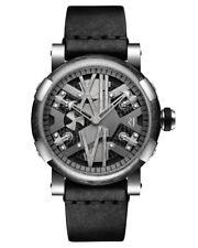 Romain Jerome Steampunk Auto 46 GunMetal Steel Watch