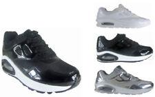 Scarpe da ginnastica neri sintetici per donna air max
