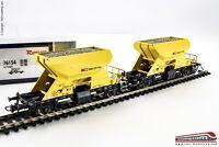 ROCO 76154 - H0 1:87 - Set 2 carri tramoggia trasporto pietrisco SBB CFF FFS tip
