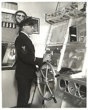 Control Room, Officer At Wheel, The USS Akron Airship, Congressional Photo 1933