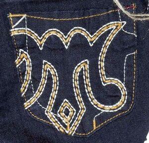 NEW Mek Carlson Slim Fit Low rise skinny leg Women's Dark Blue Jeans Sz 25x34