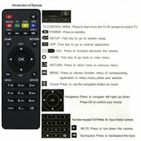 Remote Control For Android Smart TV Box MXQ Pro 4K X96 T95M T95N M8S