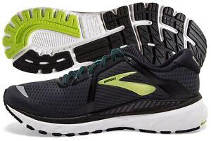Brooks Adrenaline GTS 20 Men's Black/Lime/Blue Grass multiple sizes New In Box