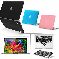3-IN-1 For New Apple Macbook Pro 13 15 Air 13, Matte Hard Case+Keyboard+LCD Film