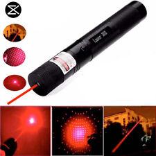 5mW 532nm 303 Red Light Laser Pointer Pen Adjustable Focus Visible Beam + 2 Keys