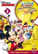 DVD Disney Junior LA MAISON DE MICKEY - Des aventures en couleur N°8