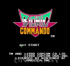 Bionic  Commando - NES Nintendo Game Tested Guaranteed