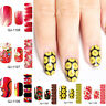 Nail Art Polish Strips Sticker Decals Gradient Manicure DIY Tips Beauty Decor