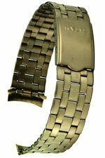 Titan-Uhrarmband Rundanschluss Faltschliesse 19 mm Titanuhrband Titanersatzband