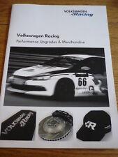 VW VOLKSWAGEN RACING CAR BROCHURE 2010  jm