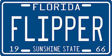 Flipper dolphin 1966 Florida License Plate