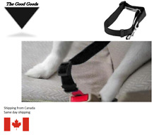 Pet Cat Dog Car Safety Seat Belt Harness Vehicle Dog Seatbelt  Leash Clip BLACK