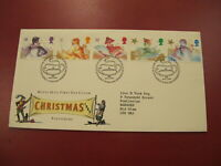1985 GB First Day cover / FDC - Pantomime Christmas