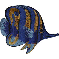 Tropical Fish Patch Iron Sew On Jeans T Shirt Jacket Embroidered Badge Applique