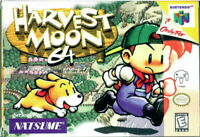 Harvest Moon 64 Nintendo 64 N64 Cleaned & Tested Cart Only Authentic