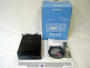 ***NEW - Open Box SONY EV-C3 (EV-A50 / EV-C40) 8mm Video8 VCR ***1 Yr. Warranty