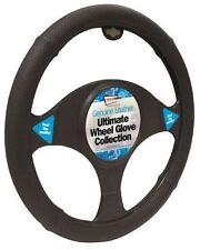 Honda Insight Black Genuine Leather Steering Wheel Cover Glove 37cm