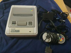 Super Nintendo SNES retro Game Console vintage free post tested good condition