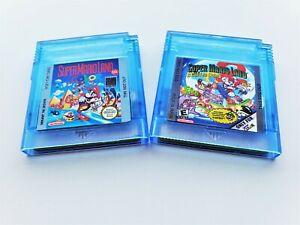 Super Mario Land 1 & 2 DX Gameboy Color Remastered Mod GBC GBA (USA Seller)