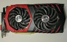MSI NVIDIA GeForce GTX 1080 8GB Gaming X8G GPU Overclocked Edition Graphics Card