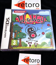 WIREWAY Wire Way NINTENDO Ds PAL Español Nuevo Precintado KONAMI Factory Sealed
