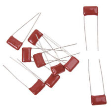 250V 0.1uF 10% Metallized Polyester Film Capacitors 10 Pcs Y5B9