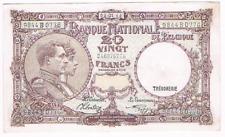 """20 Frank/Franc  type  """"1919""""  Nationale Reeks  03.01. 1944   Morin 27 VAR    XF+"""