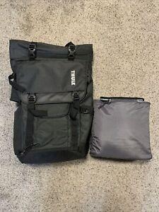 Thule Unisex Covert DSLR Rolltop Camera/drone Backpack, Dark Shadow + Insert