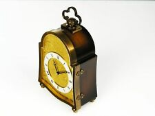 CHIMING DESK CLOCK FROM JUNGHANS MEISTER-A MASTER PIECE OF TIME with wall board
