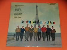 LP - 25 cm - Les Compagnons de la Chanson - Le Vendedor de Feliz - 1960