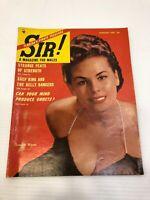 Vintage Sir! Magazine - January 1954